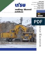 PC8000 Spec Sheet English