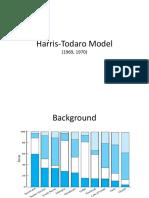 Harris Todaro Model