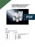 DRV-MasterDrives-6SE70 Capacitor Recharge Details