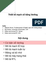thiết kế mạch số bằng verilog bài tập có lời giải