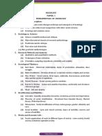 Upsc Optional Syllabus SOCIOLOGY