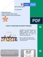 """Evidencia 6 - Video """"Steps to Exports"""""""
