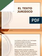 El Texto Jurídico