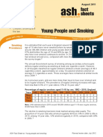 Young people and smoking