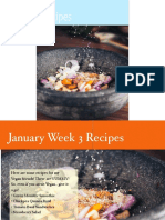 Recipes January Week 3
