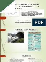 Impacto de Vertimientos de Aguas Residuales Contaminadas