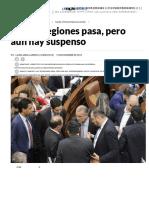 Ley de Regiones Pasa, Pero Aún Hay Suspenso _ La Silla Vacía
