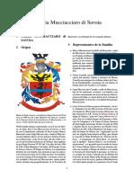 Familia Mucciacciaro Di Savoia Ultima Actualizacion