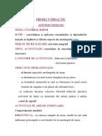proiect activ integrata educ   limbajului+arte (1)
