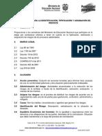 METODOLOGÍA ADMINISTRACIÓN DE RIESGOS