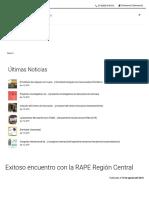 Exitoso Encuentro Con La RAPE Región Central _ Universidad Distrital Francisco José de Caldas