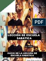 Escuela Sabática Evangelismo  y Mayordomía, en los Tiempos de  EGW