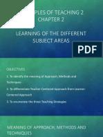 Principles of Teaching 2 Report 1