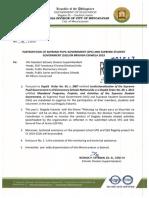 Division Memorandum No. 099, s. 2019