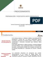 1. Presentación Proc Preparación y Respuesta Ante Emergencia.