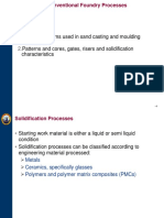Chapter 2 -Conventional Foundry Processes