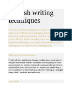 English writing techniques.docx