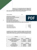 Ejercicio Presupuesto de Venta COMPLETO