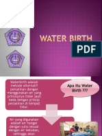 ppt water birth