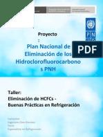 CAP 1D TALLER DE ELIMINACION DE HCFC´s y BPR ORIGINAL