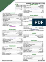 checklist AEA