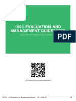 ID8627d834d-1995 evaluation and management guidelines