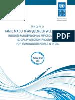 Case  study on TAMIL NADU TRANSGENDER WELFARE BOARD: