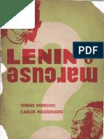 Lenin o Marcuse por Vuskuvic y Maldonado
