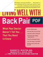 Robert B. Winter, Marilyn L. Bach - Living Well with Back Pain_ What Your Doctor Doesn't Tell You...That You Need to Know (2006).en.it.docx