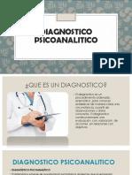 DIAGNOSTICO PSICOANALITICO