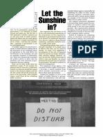 Statler ‡‡‡ 1981 - Let the Sunshine in?
