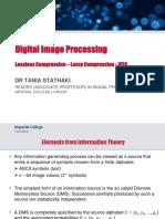 DCT based coding