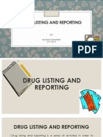 Pencatatan Dan Pelaporan Obat