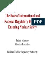 Mr_Faizan Mansoor, Member (Executive), Pakistan Nuclear Regulatory Authority-5a40