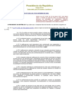 Lei Nº 13.352 27.10.2016 Contrato de Parceria Salões