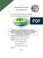 Programa de Manejo Ambiental Corregido