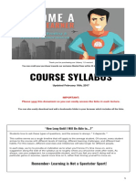 Course Syl Lab Us Super Learner December 2015