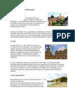 10 Lugares Turísticos de Nicaragua