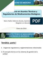 Concepto Técnico de Medicamentos I - Naira Valencia