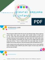 PPT Massive Pleural Empyema in Infancy