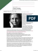 Muere La Escritora Doris Lessing _ Cultura _ EL PAÍS
