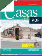 Casas de El Paso - Noviembre 2010