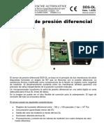 Manual_sensor de Presion DueferncialES