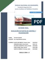 Informe Final Nivelación y Visación Geodesia