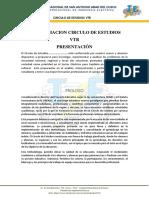 Conformacion Circulo de Estudios