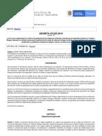 Decreto 472 de 2015