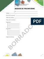 Formtao Presentación Preinforme - Informe
