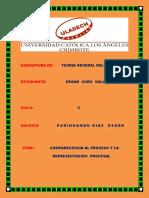 Comparecencia Al Proceso Según El Código Procesal Civil Peruano