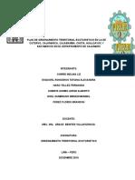 Informe del Plan de Ordenamiento Territorial Ecoturistico.docx