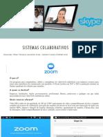 Sistemas Colaborativos- ZOOM - SKYPE